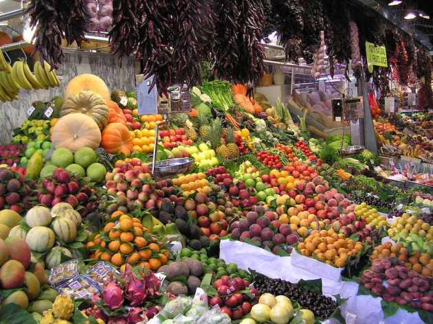 La Boqueria Market, Catalonia, Spain